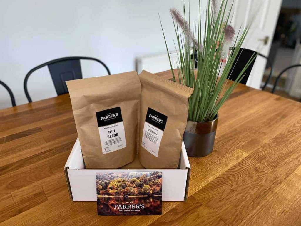 Farrers Coffee Blend Review
