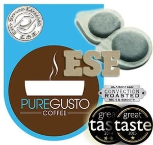 PUREGUSTO ESE Coffee Pods Mixed Selection  (ESE Pods)