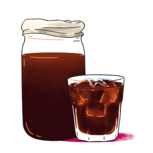 cold brew illustration