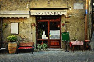 Italy coffee on street