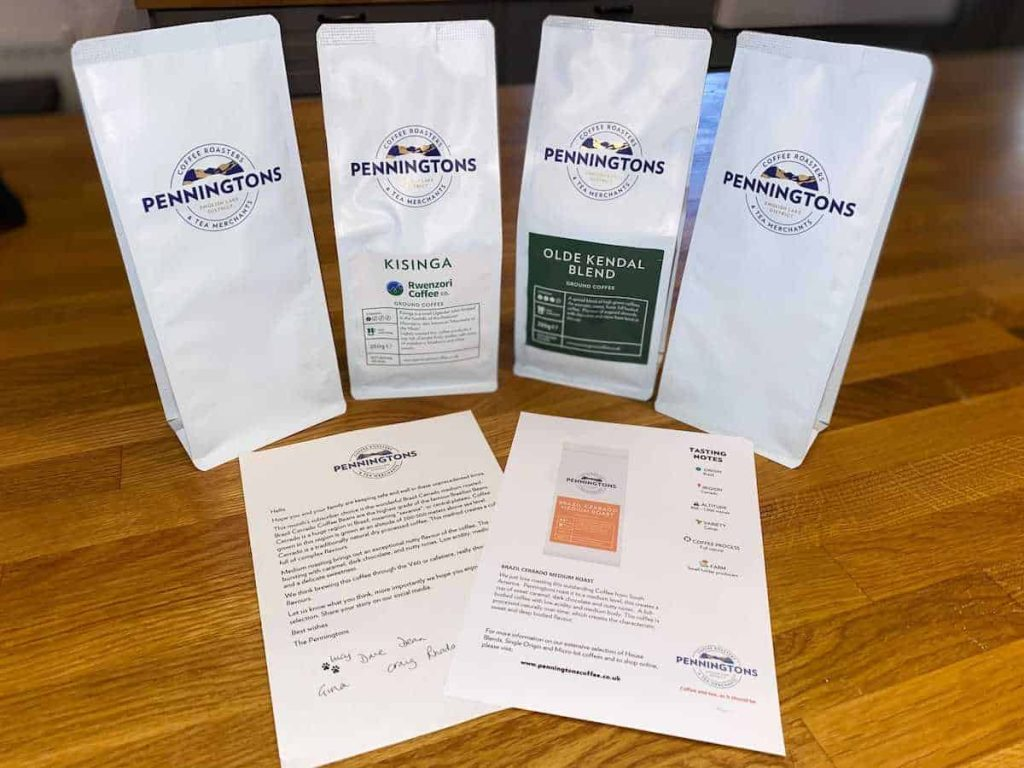 Penningtons Coffee Review