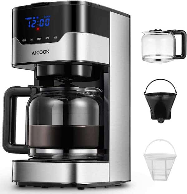 Aicook 12 Cup Programmable Coffee Maker