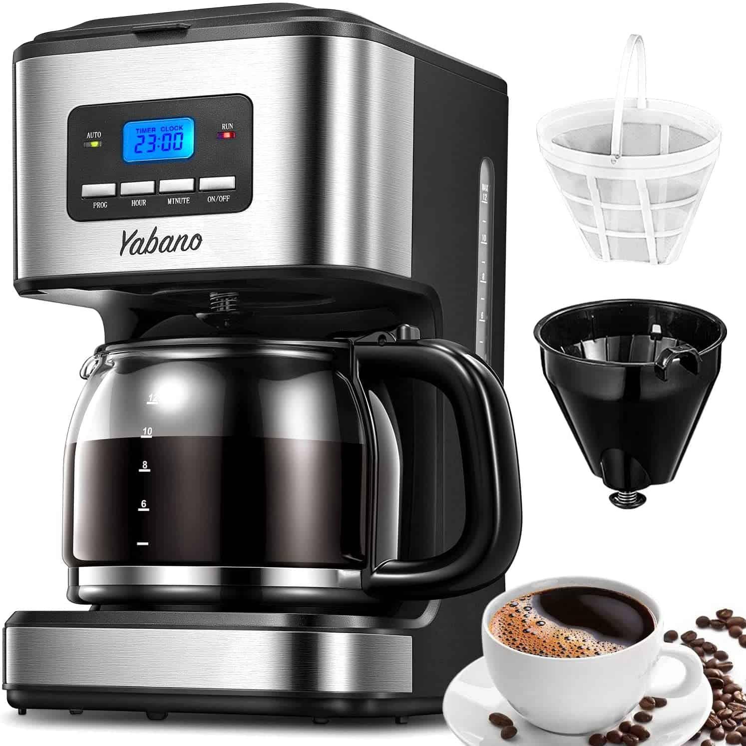 Yabano Filter Coffee Machine with Insulated Jug