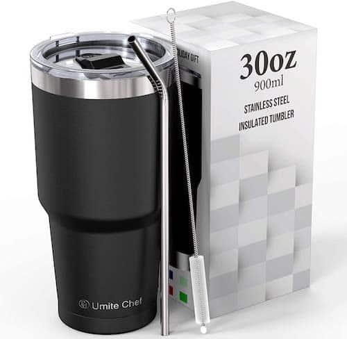 Umite Chef Stainless Steel Vacuum Insulated Travel Tumbler Mug