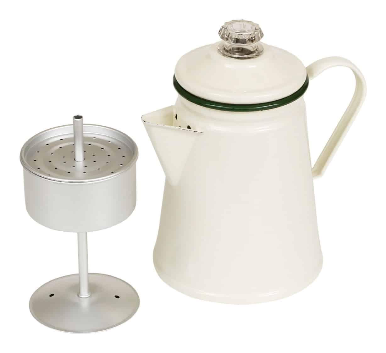 Victor Enamel Coffee Percolator
