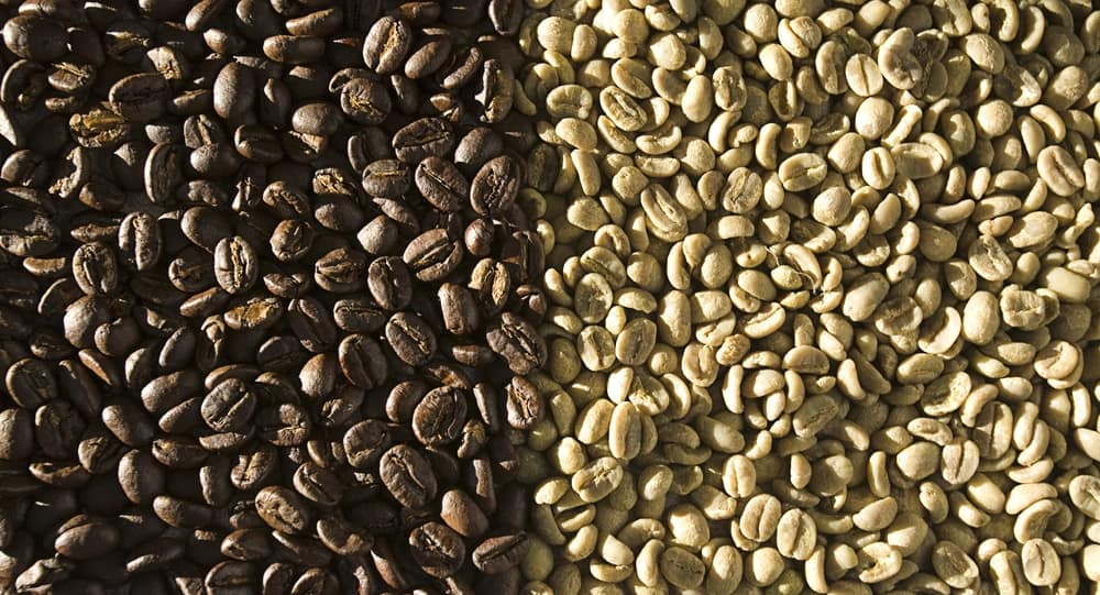 Dark roasted coffee beans versus light roasted coffee beans